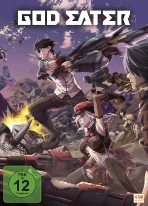 God Eater - Volume 1 Episode 01-05 im Sammelschuber