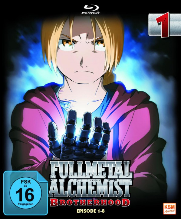 Fullmetal Alchemist: Brotherhood - Volume 1 Folge 01-08 (Limited Edition) [Blu-ray]