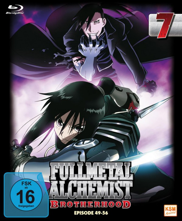 Fullmetal Alchemist: Brotherhood - Volume 7 Folge 49-56 (Limited Edition) [Blu-ray]