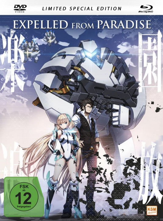 Expelled From Paradise Limited Edition im Mediabook (DVD+Blu-ray)