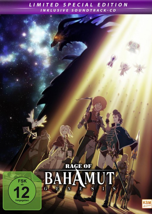 Rage of Bahamut Genesis Limited Edition Folge 01-12 und Special 6.5 [DVD]