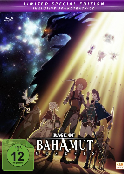 Rage of Bahamut Genesis Limited Edition Folge 01-12 und Special 6.5 [Blu-ray]