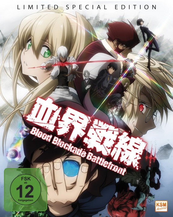 Blood Blockade Battlefront Limited Edition Vol. 1-3 [Blu-ray]