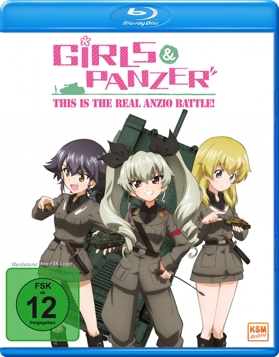 Girls und Panzer - This is the Real Anzio Battle! - OVA [Blu-ray]