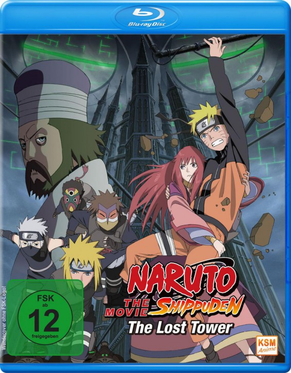 Naruto Shippuden - The Movie 4: The Lost Tower [Blu-ray]