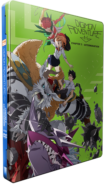 Digimon Adventure tri. Chapter 2 - Determination [DVD] im FuturePak