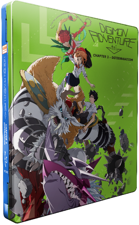 Digimon Adventure tri. Chapter 2 - Determination [Blu-ray] im FuturePak