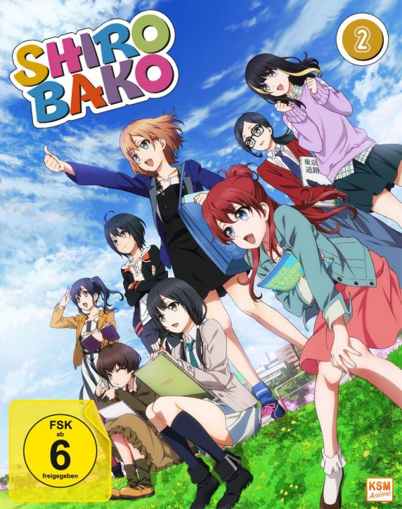 Shirobako - Volume 4: Episode 13-16 im Sammelschuber [Blu-ray]