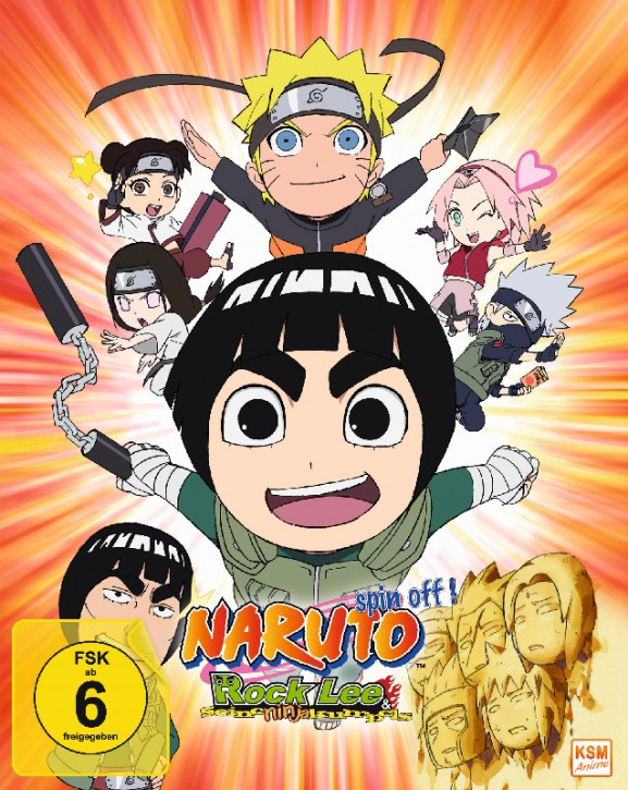 Naruto - Spin- Off! - Rock Lee und seine Ninja Kumpels - Volume 1: Episode 01-13 [Blu-ray]