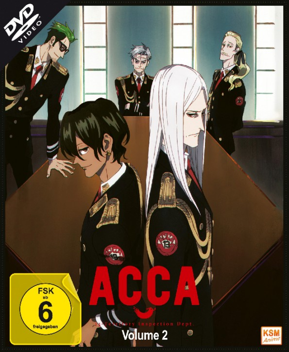 ACCA: 13 Territory Inspection Dept. - Volume 2: Episode 05-08