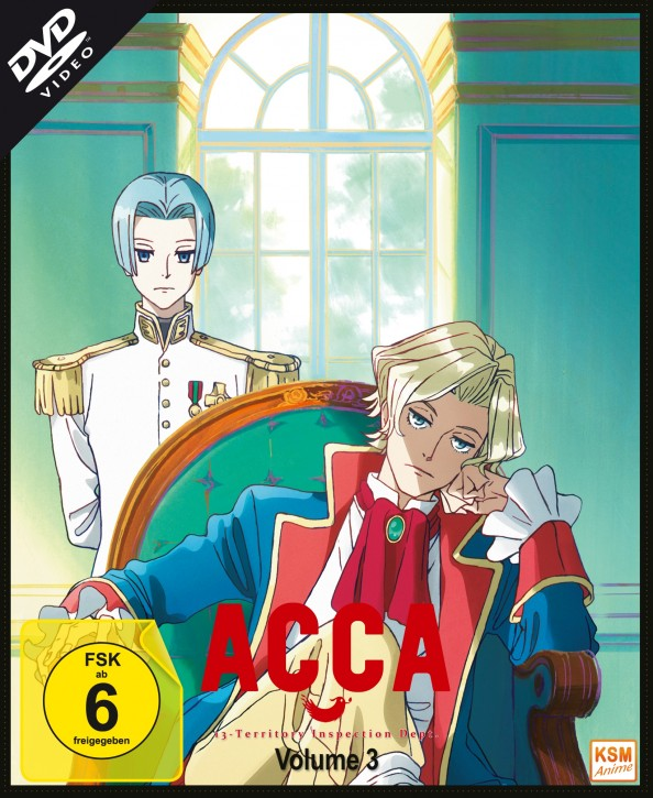 ACCA: 13 Territory Inspection Dept. - Volume 3: Episode 09-12