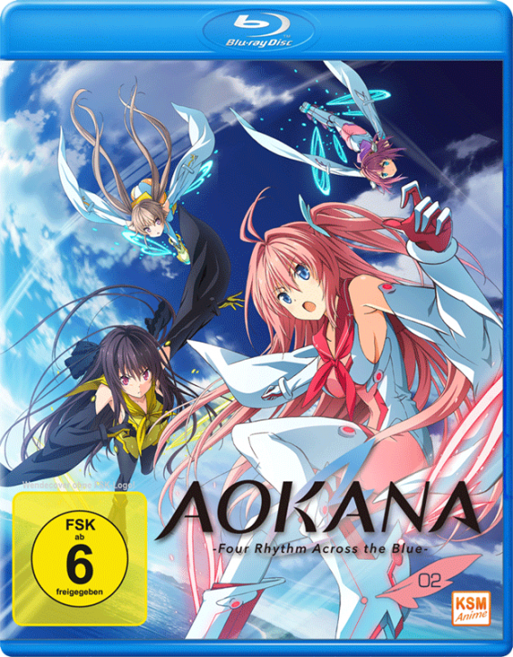 Aokana - Four Rhythm Across the Blue - Volume 2: Episode 07-12 [Blu-ray]
