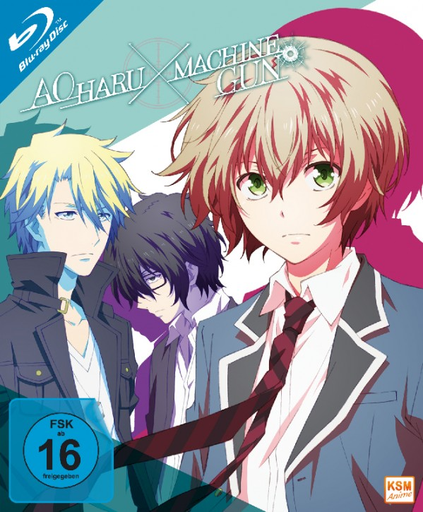 Aoharu x Machinegun - Volume 1: Episode 01-04 [Blu-ray]