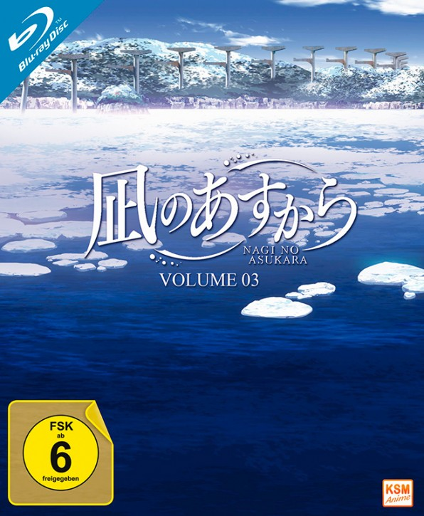 Nagi no Asukara - Volume 3: Episode 12-16 [Blu-ray]