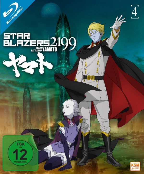 Star Blazers 2199 - Space Battleship Yamato - Volume 4: Episode 17-21 [Blu-ray]