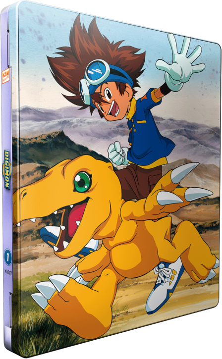 Digimon Adventure - Staffel 1.1: Episode 01-18 [Blu-ray] im FuturePak