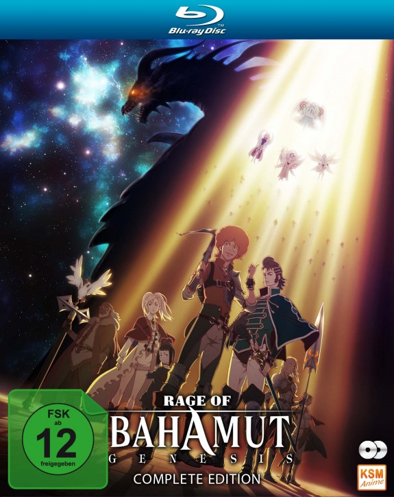 Rage of Bahamut: Genesis - Complete Edition [Blu-ray]