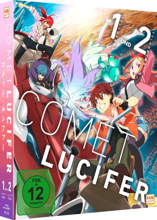 Comet Lucifer - Complete Edition: Episode 01-12 [Blu-ray]