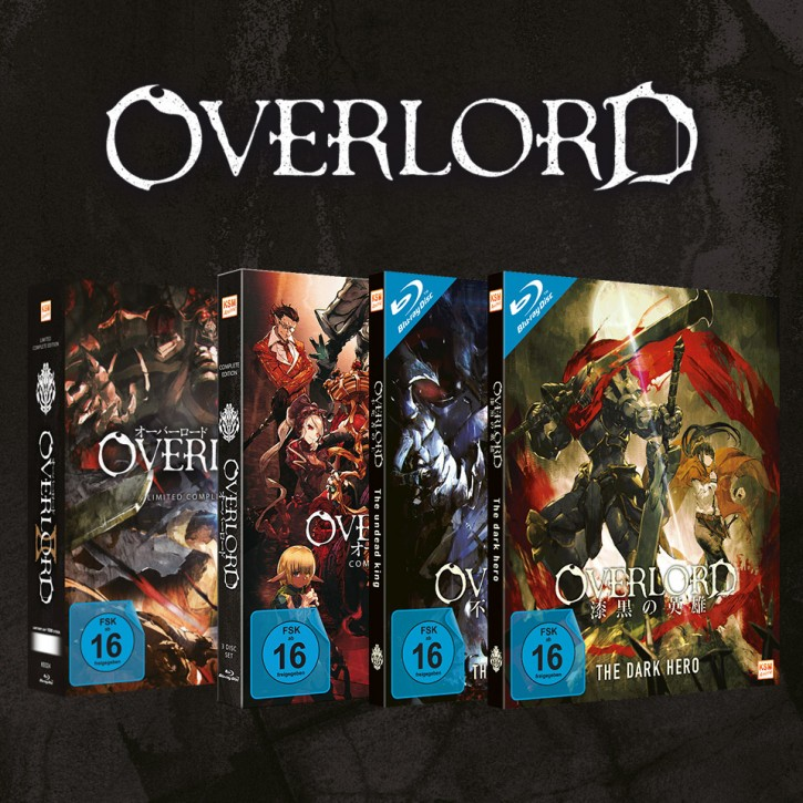 Overlord - Gesamtbundle: Staffel 1&2 + Movie 1&2 [Blu-ray]