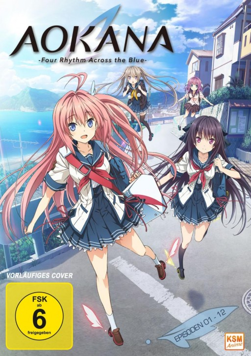 Aokana - Four Rhythm Across the Blue - Gesamtedition: Episode 01-12 [Blu-ray]