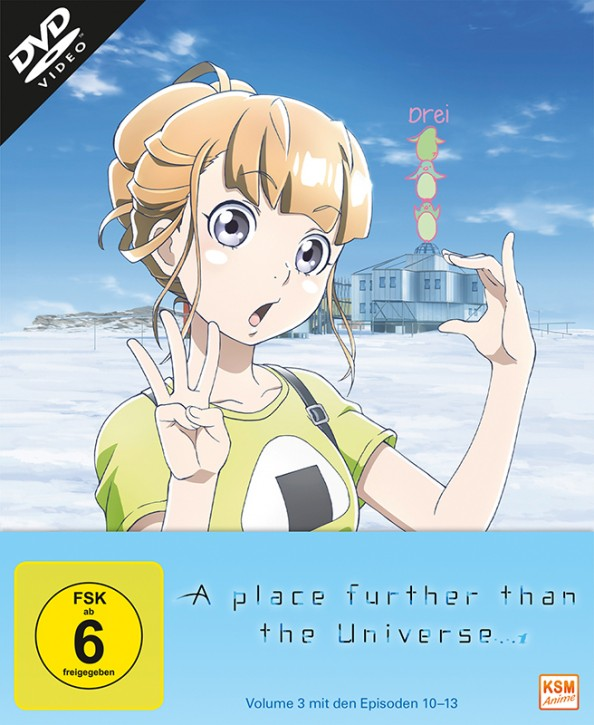 A place further than the Universe - Volume 3: Episode 10-13 [DVD]