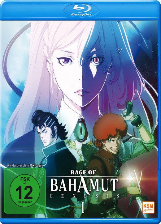 Rage of Bahamut Genesis Volume 1 Episode 01-06 [Blu-ray]