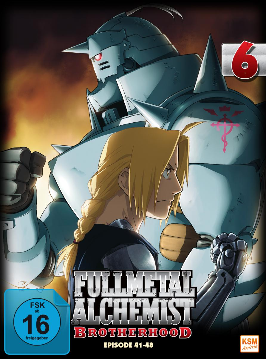 b6cd9b2bb7117 Fullmetal Alchemist: Brotherhood - Volume 6 Folge 41-48 (Limited Edition)