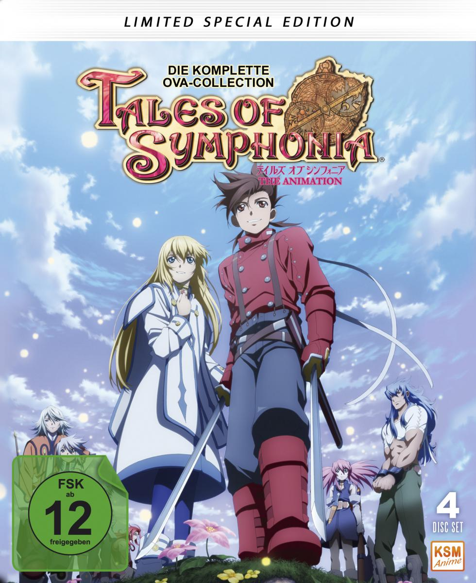 Tales of Symphonia - Special Limited Edition im Mediabook [Blu-ray]