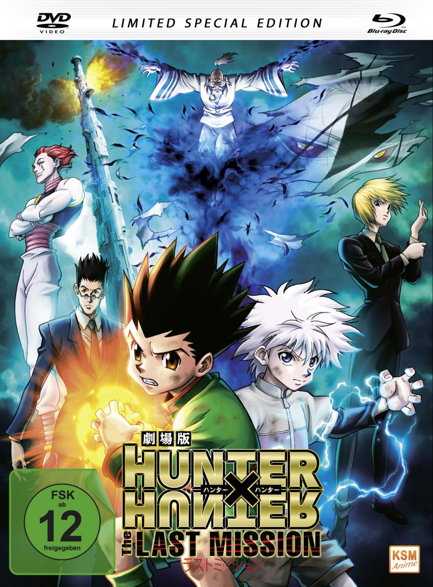 HUNTERxHUNTER - The Last Mission (Mediabook) [DVD + Blu-ray]