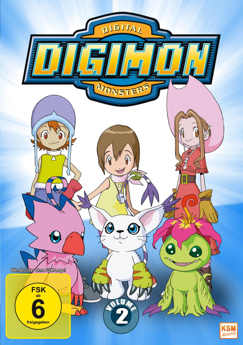 Digimon Adventure - Volume 2 Episode 19-36