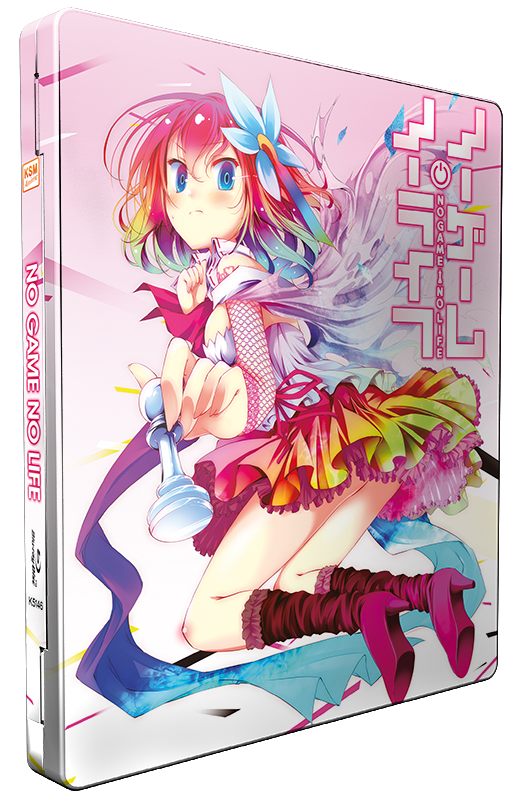 No Game No Life - Episode 1 - 12 - Die Gesamtedition im limitierten FuturePak [Blu-ray]