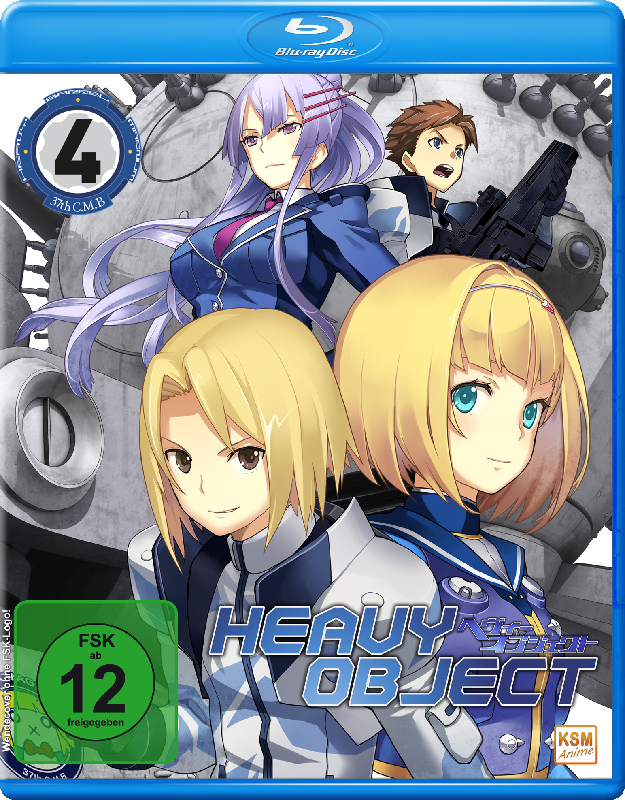 Heavy Object - Episode 19-24 (Blu-ray]