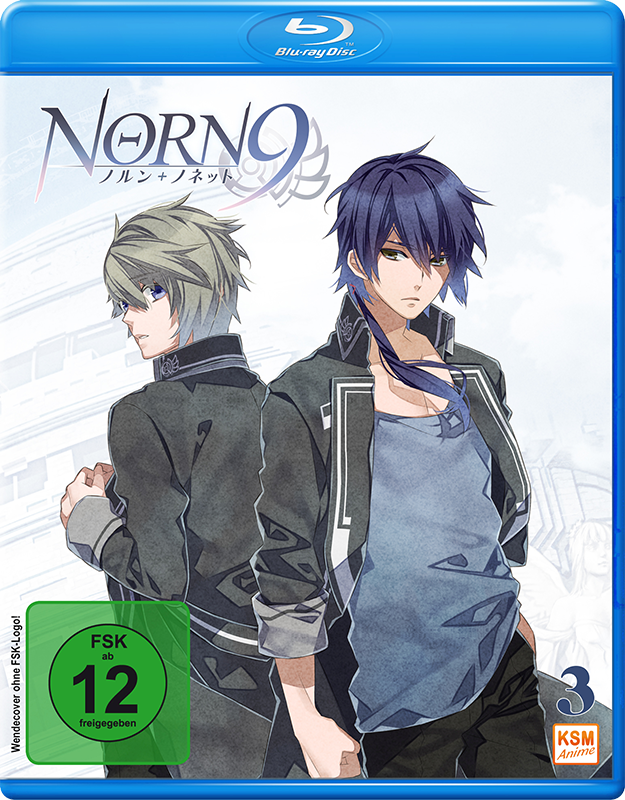 Norn9 - Volume 3: Episode 09-12 [Blu-ray]