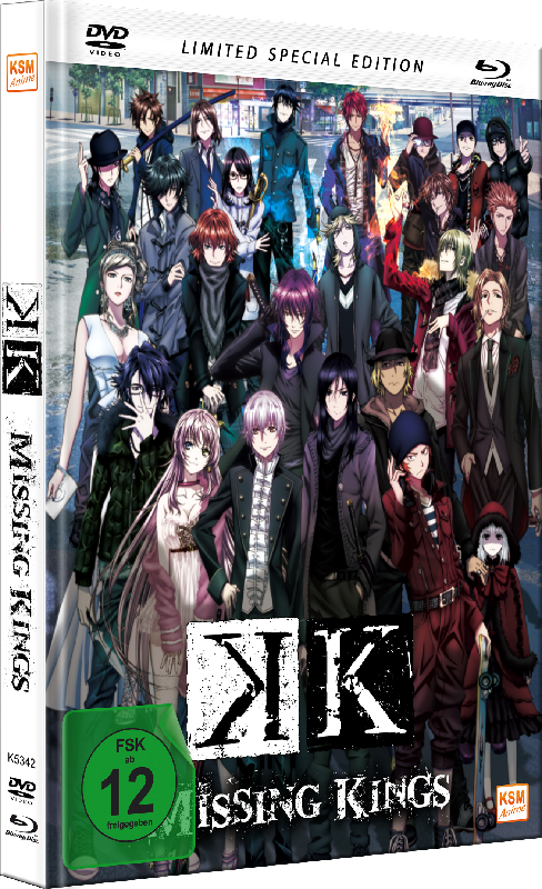 K - Missing Kings - The Movie [DVD+Blu-ray] im limitierten Mediabook