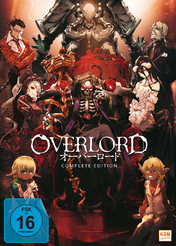 Overlord - Complete Edition: Staffel 1 (13 Episoden)
