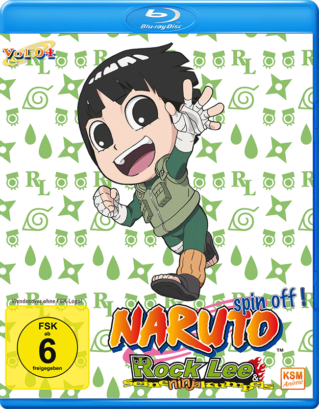 Naruto - Spin- Off! - Rock Lee und seine Ninja Kumpels - Volume 4: Episode 40-51 [Blu-ray]