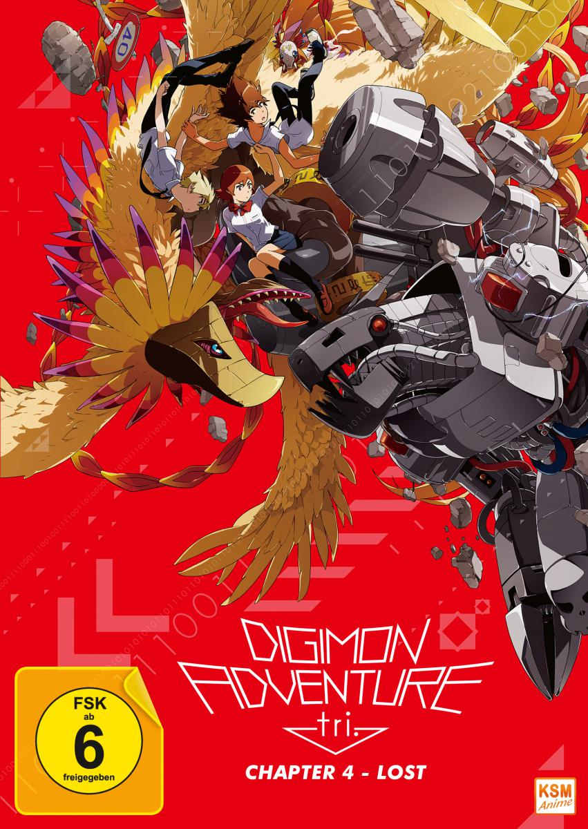 Digimon Adventure tri. Chapter 4 - Lost [DVD]