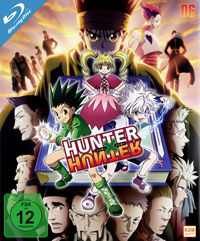 HUNTERxHUNTER - Volume 6: Episode 59-67 [Blu-ray]