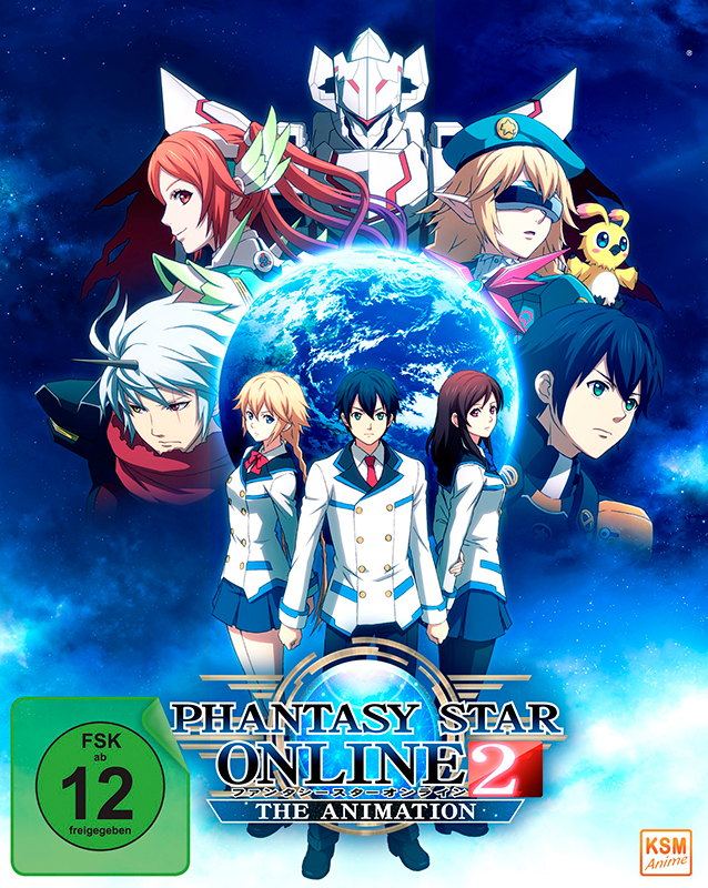 Phantasy Star Online 2 - Volume 1: Episode 01-04 im Schuber [Blu-ray]