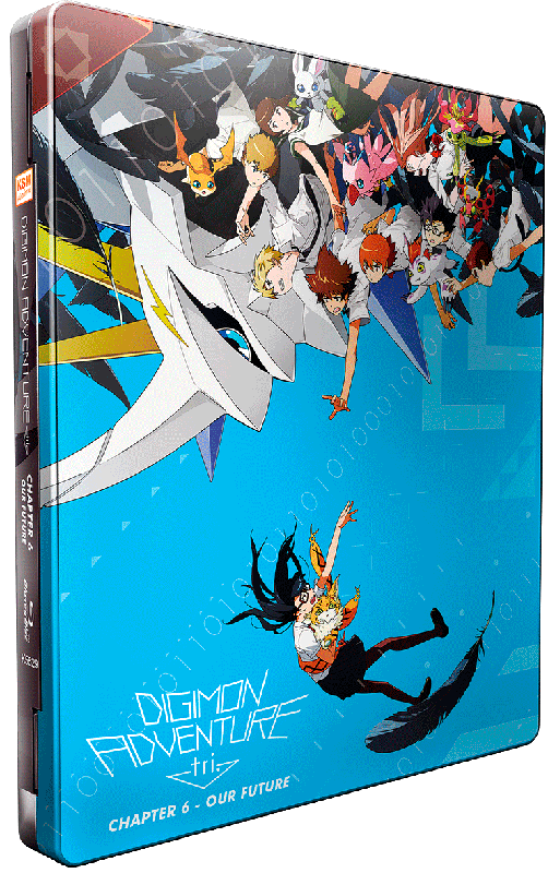 Digimon Adventure tri. Chapter 6 - Our Future [Blu-ray] im FuturePak