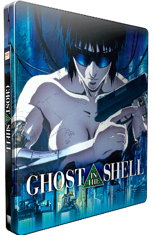 Ghost in the Shell (1995) [DVD] im FuturePak