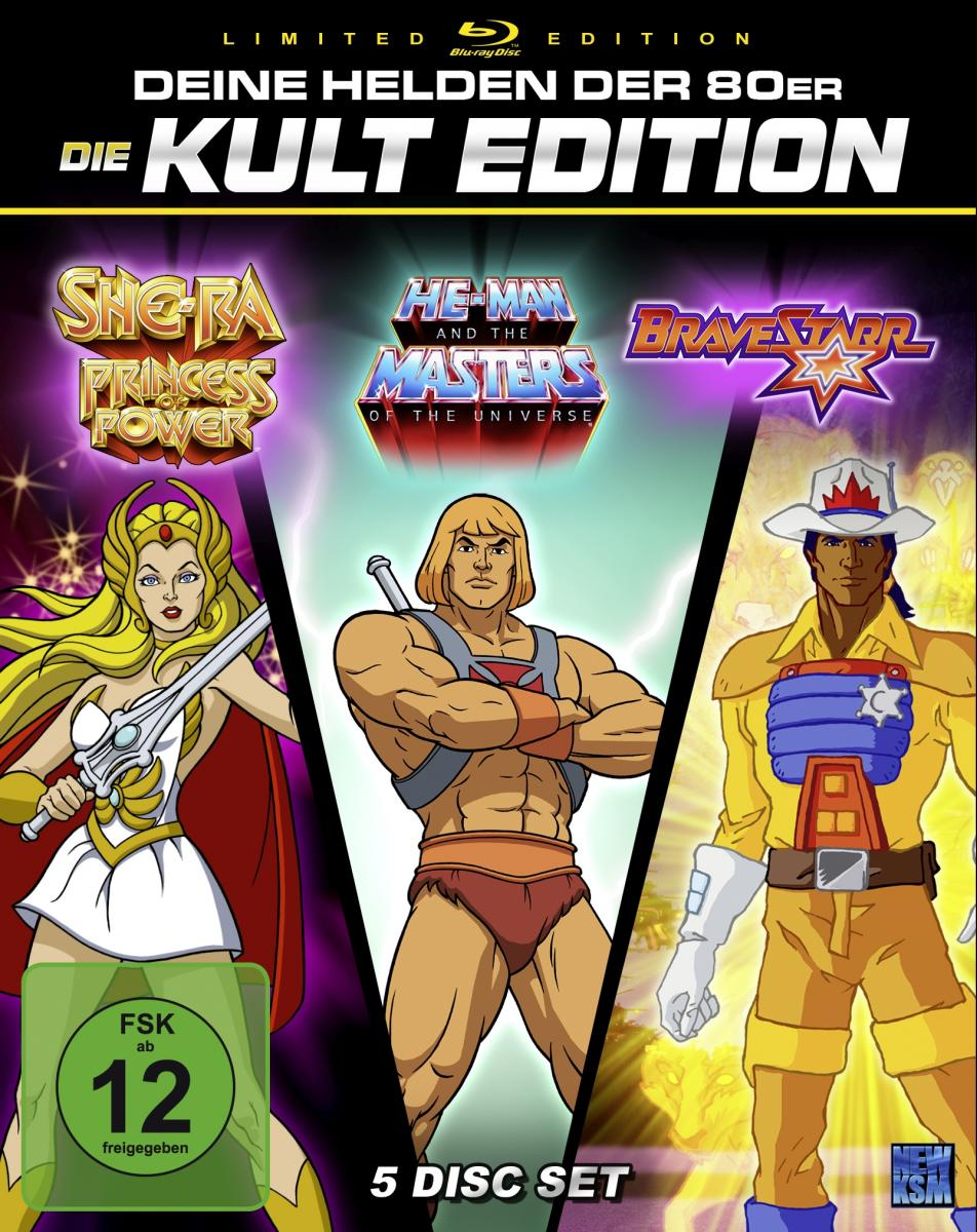 He-Man + She-Ra + BraveStarr - 80er Jahre Kult Zeichentrick Edition - Special Edition [Blu-ray]