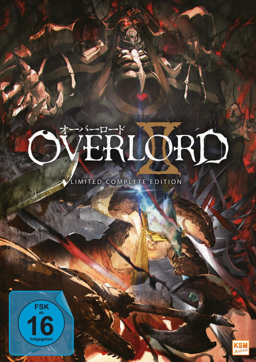 Overlord - Limited Complete Edition: Staffel 2 (13 Episoden) [DVD]