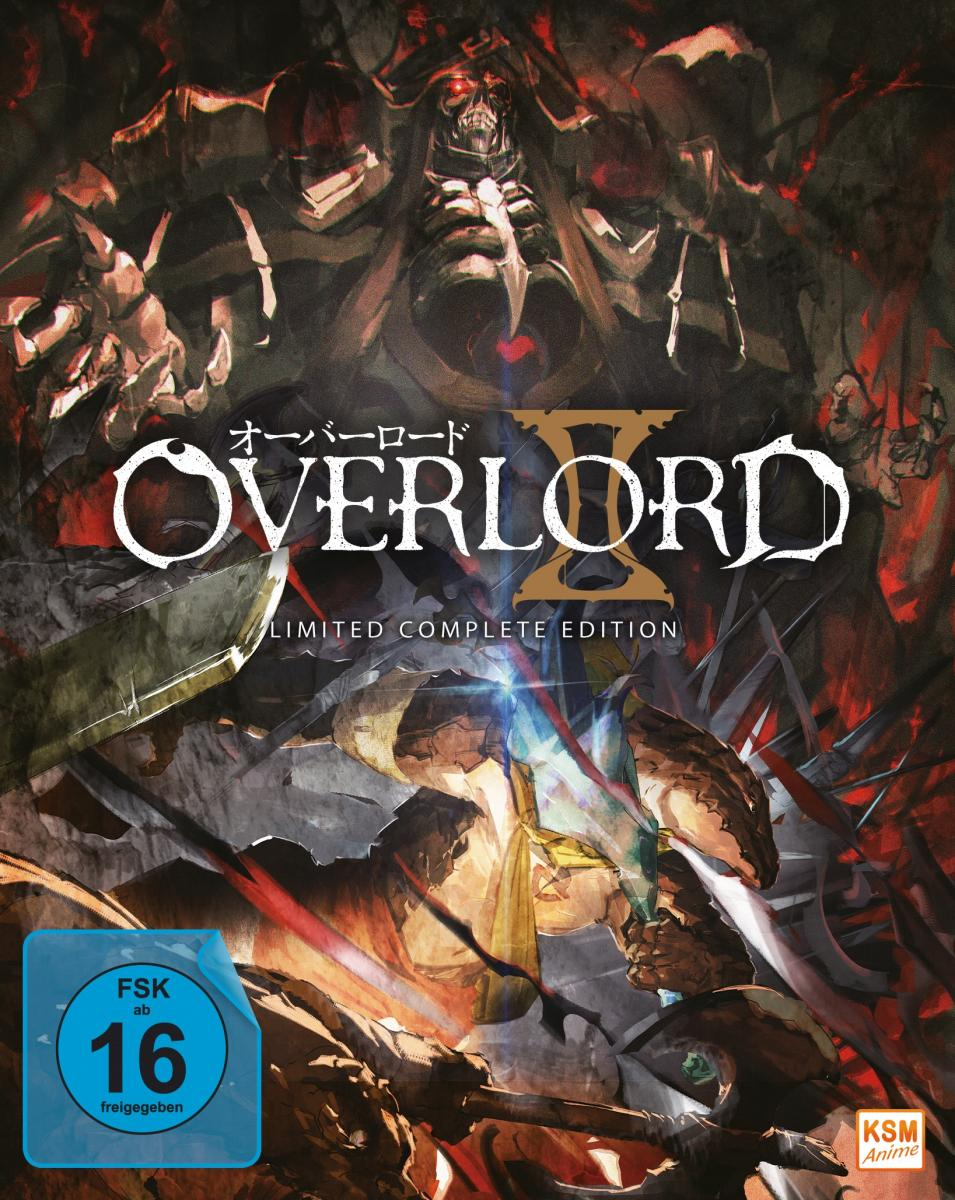 Overlord - Limited Complete Edition: Staffel 2 (13 Episoden) [Blu-ray]