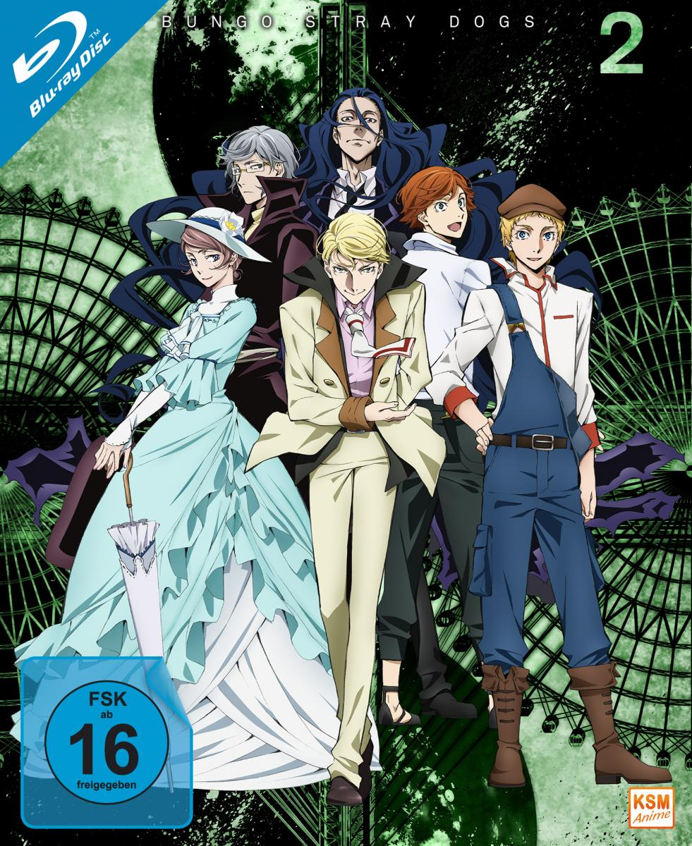 Bungo Stray Dogs - Gesamtedition Staffel 2: Episode 01-12 [Blu-ray]