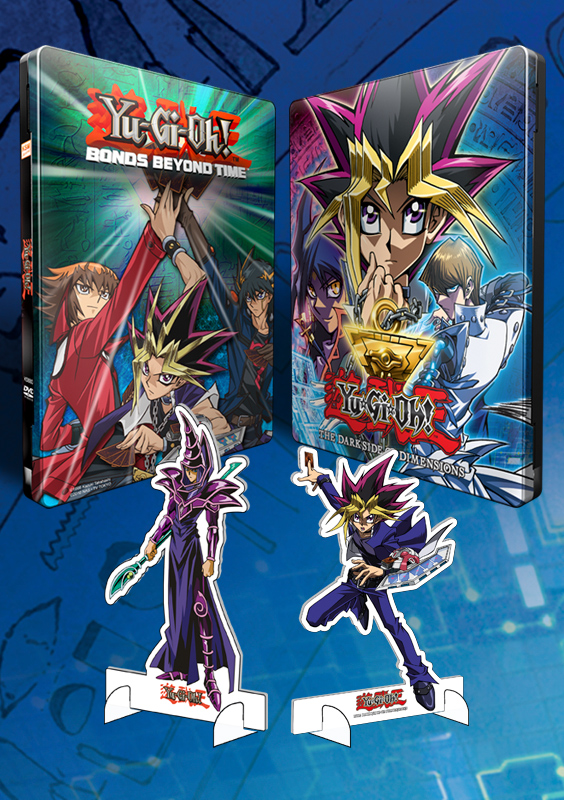 Yu-Gi-Oh! - Bundle Edition - Movie Collection + The Dark Side of Dimension [DVD] im exklusiven FuturePak