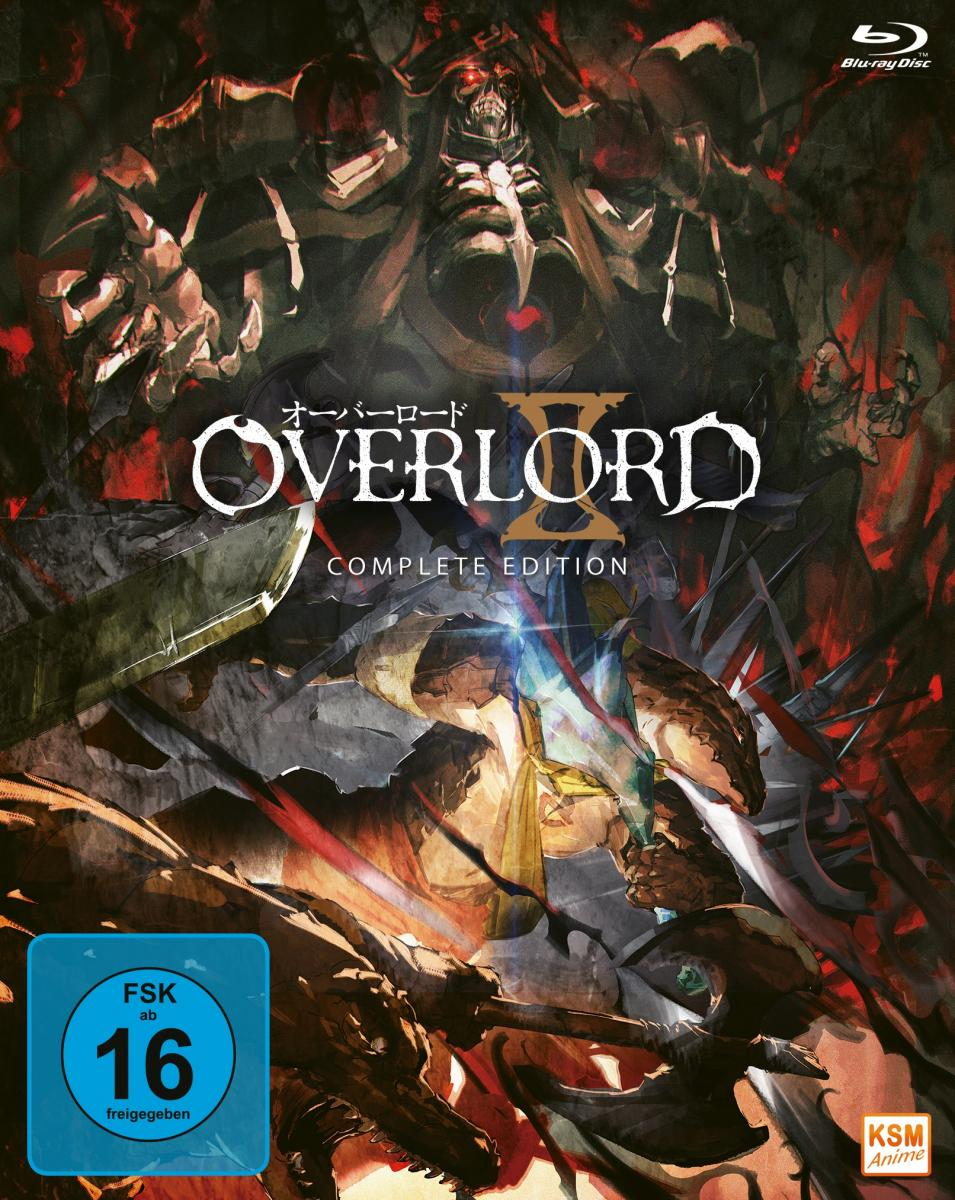 Overlord -  Complete Edition Staffel 2 (13 Episoden) [DVD]