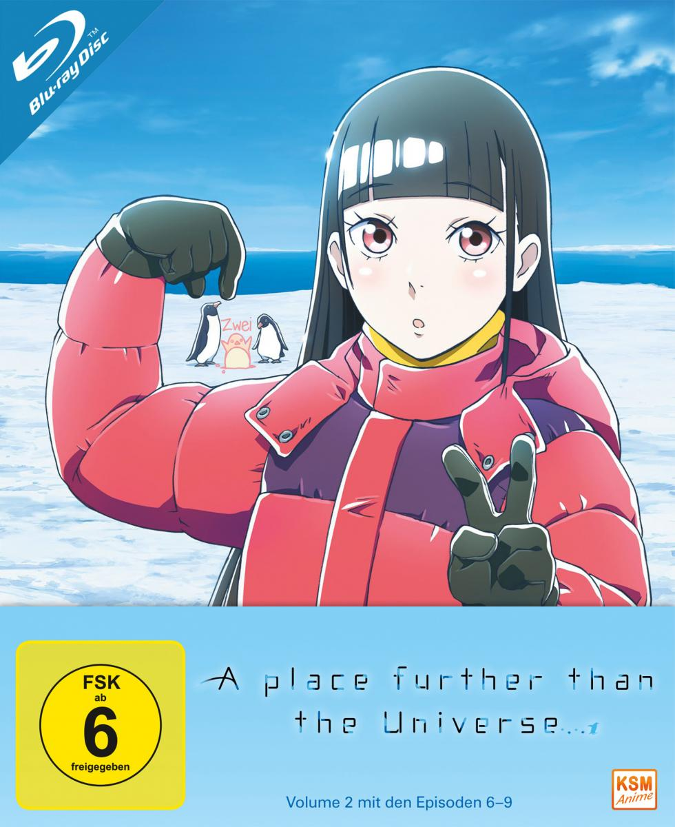 A Place Further than the Universe - Volume 2: Episode 06-09 [Blu-ray]