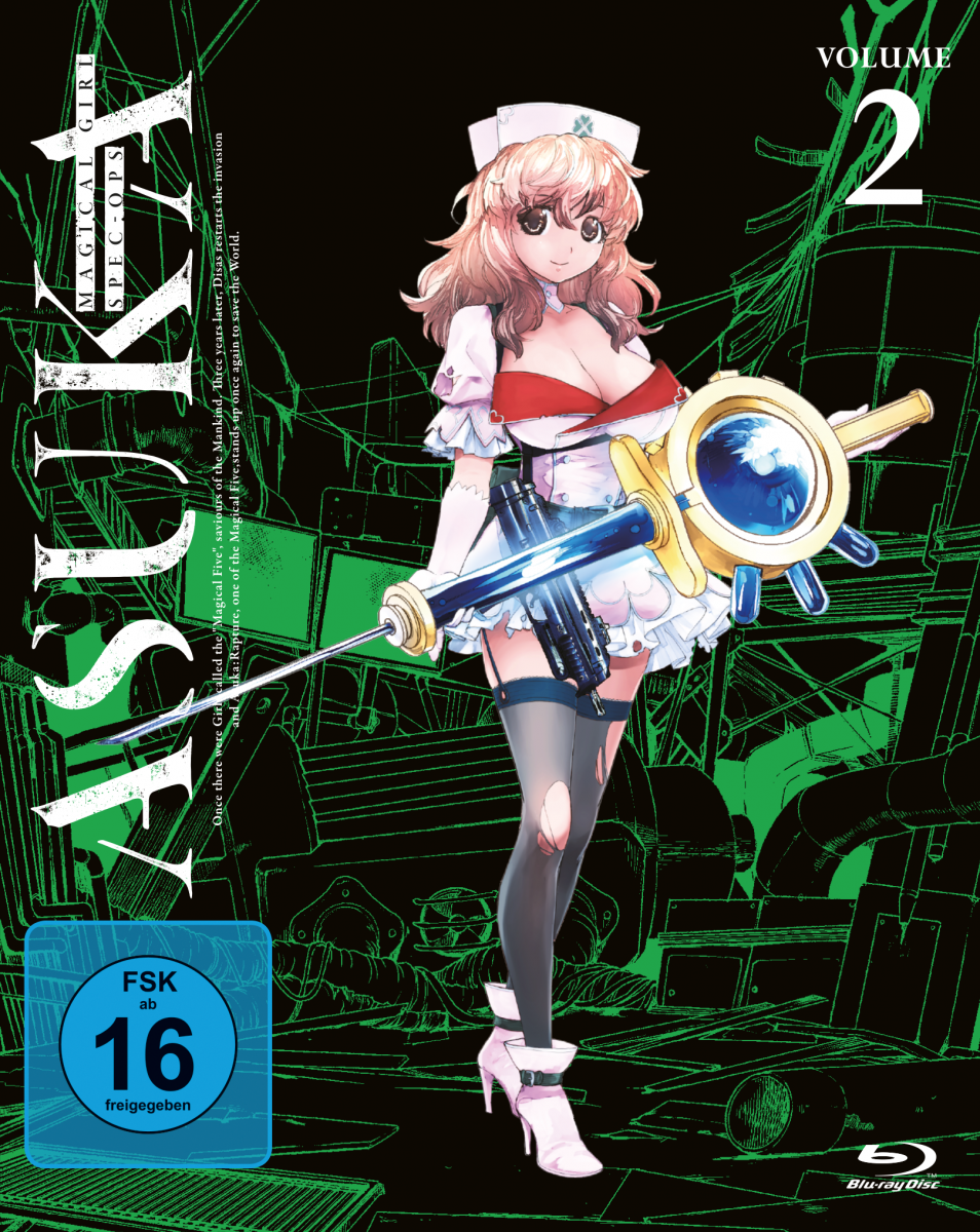 Magical Girl Spec-Ops Asuka - Volume 2 [Blu-ray]