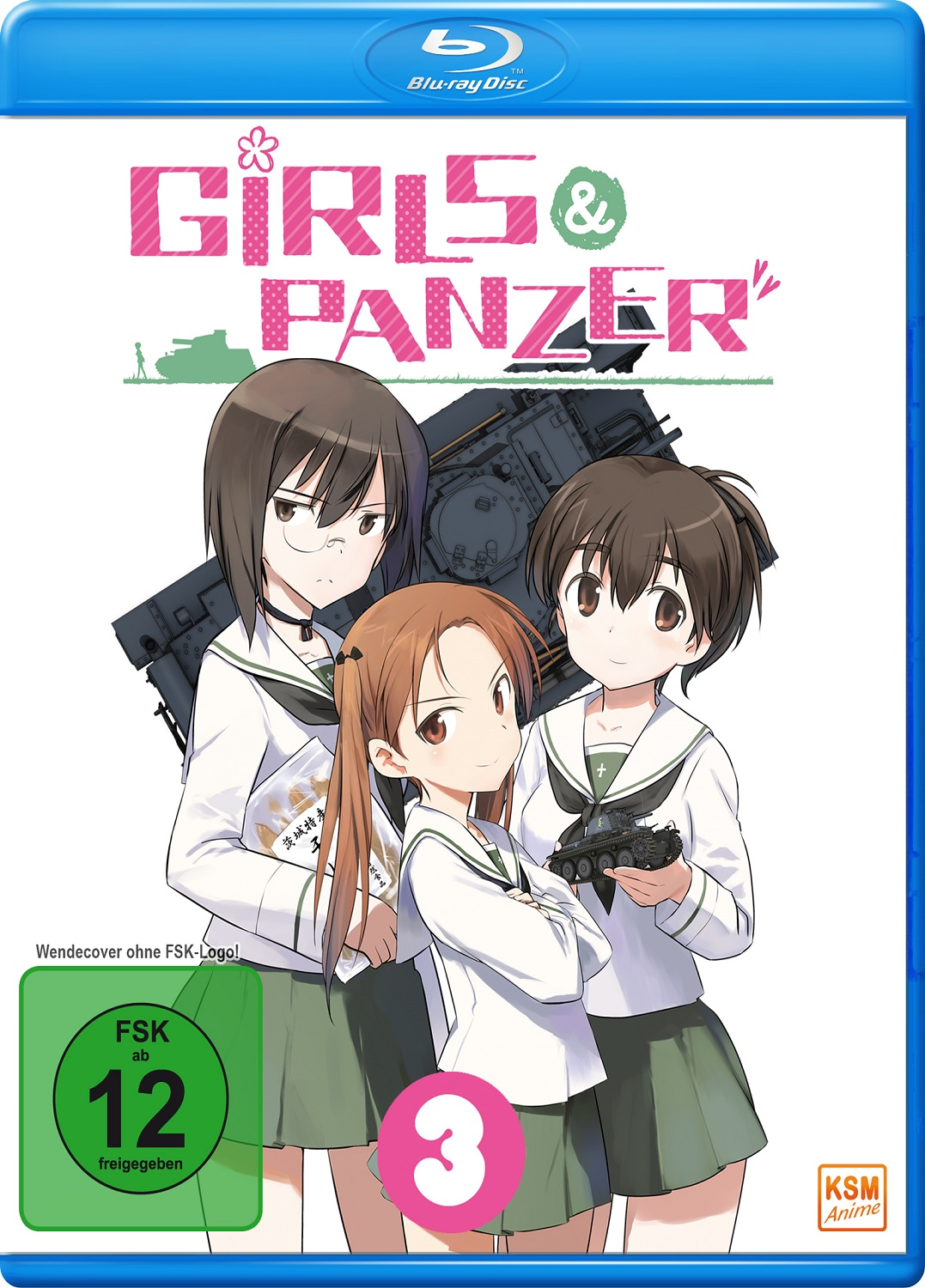 Girls & Panzer - Volume 3: Episode 09-12 [Limited Edition] [Blu-ray]
